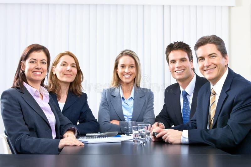 Executivos da equipe imagem de stock