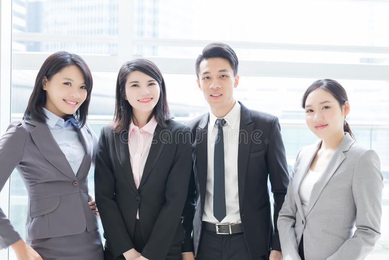 Executivos da equipe fotografia de stock