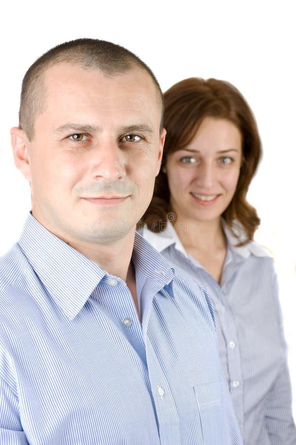 Executivos de sorriso fotos de stock