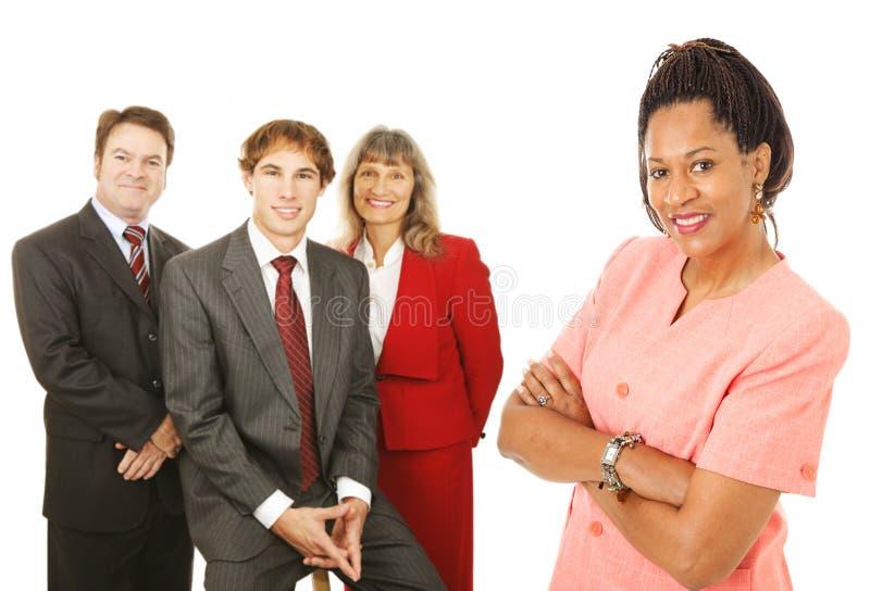 Executivos diversos imagem de stock royalty free