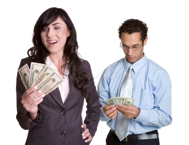 Executivos do dinheiro fotos de stock