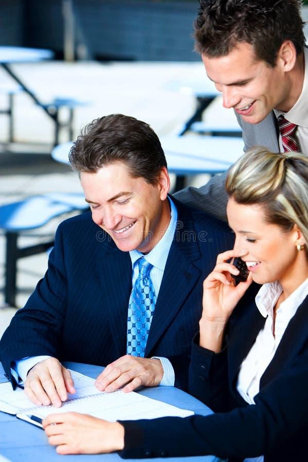 Executivos do encontro fotos de stock royalty free