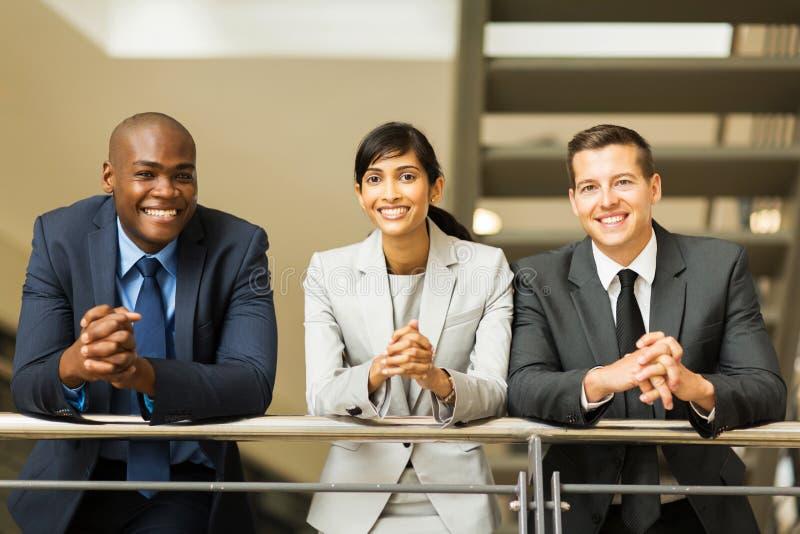 Executivos do grupo imagem de stock royalty free