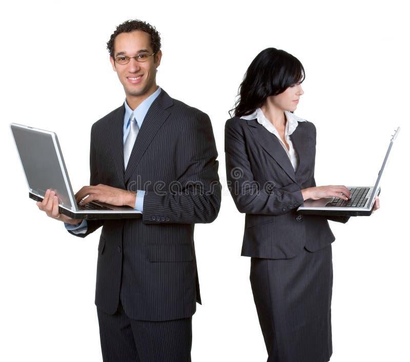 Executivos do portátil fotos de stock royalty free