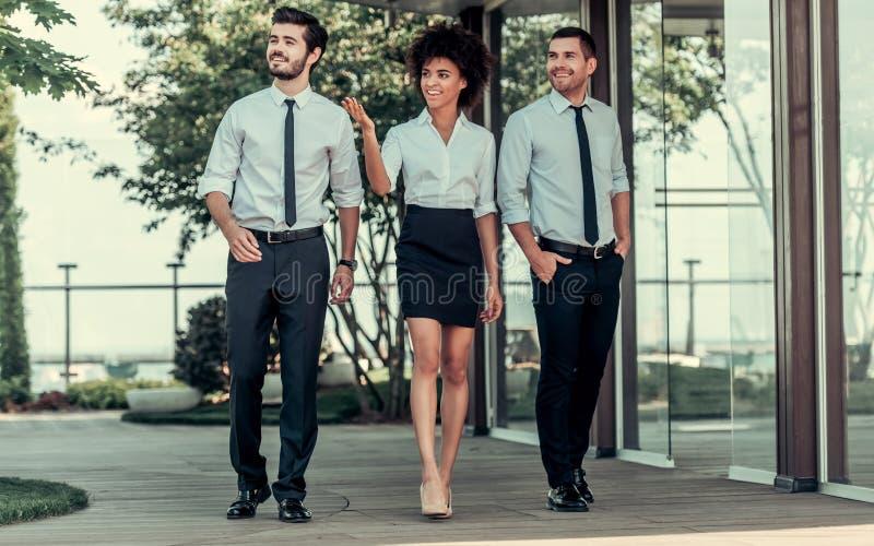 Executivos do trabalho fotografia de stock
