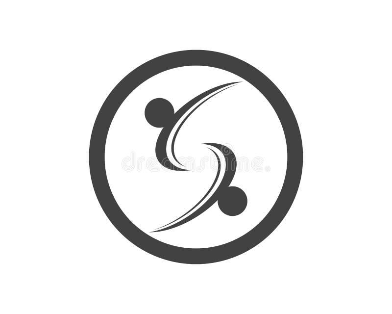 Executivos do vetor incorporado do projeto do logotipo da letra de S ilustração royalty free