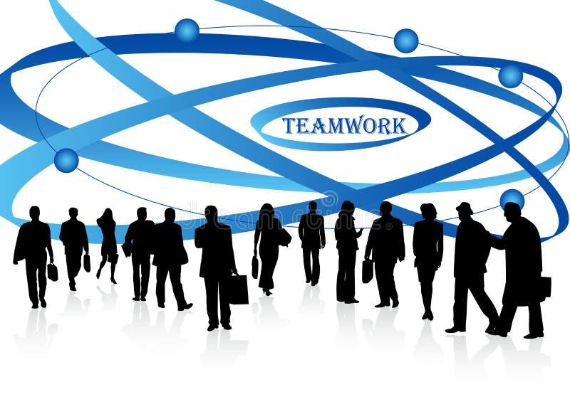 Executivos e sumário ilustração do vetor