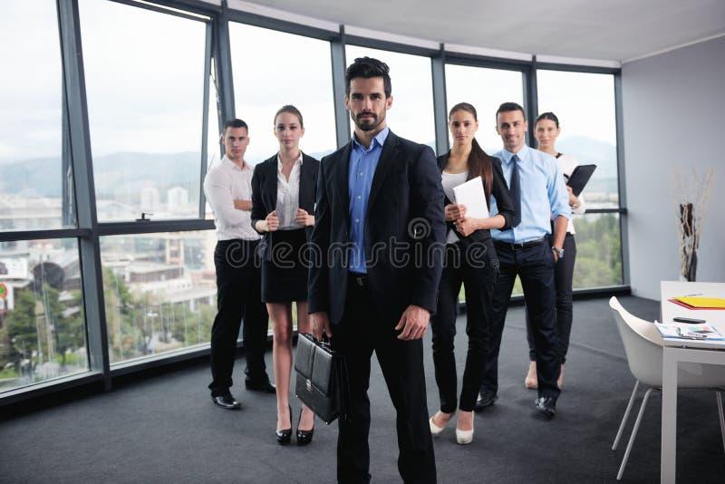 Executivos em uma reunião no escritório imagem de stock royalty free