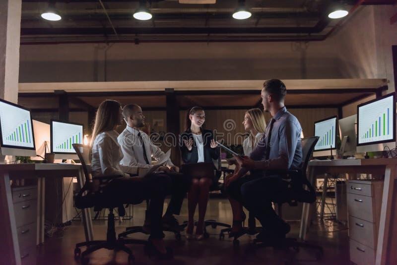 Executivos na conferência imagem de stock
