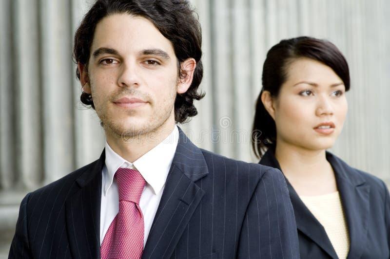 Executivos novos imagem de stock