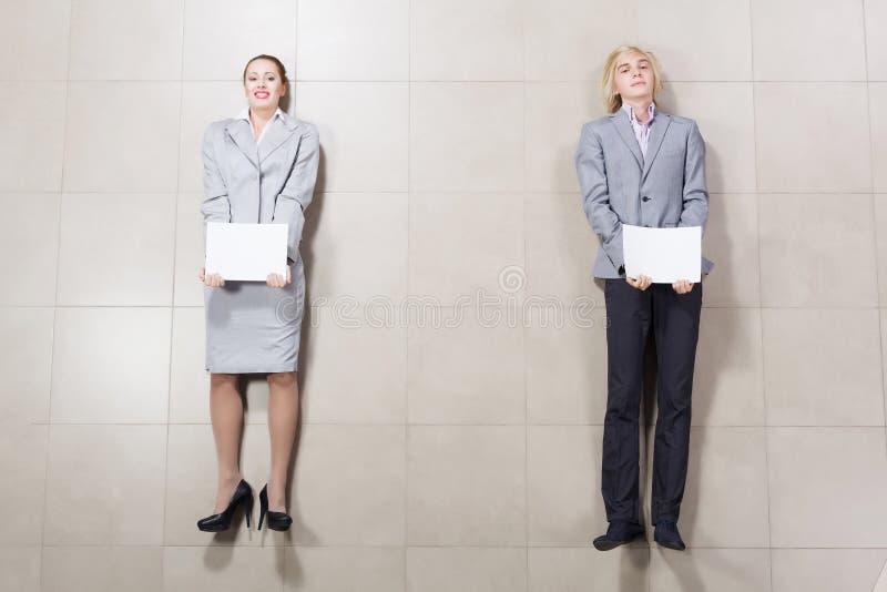 Executivos novos imagem de stock royalty free