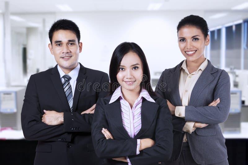 Executivos seguros 1 fotografia de stock royalty free