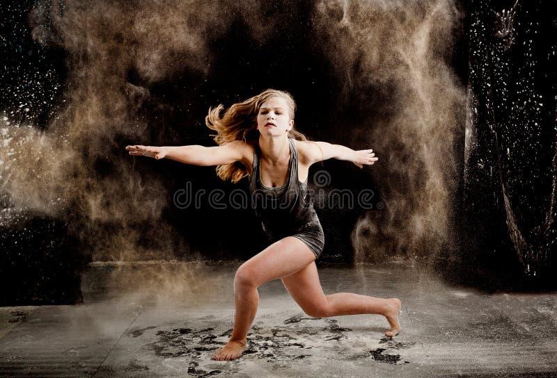 Executor da dança de Contemporay imagens de stock royalty free