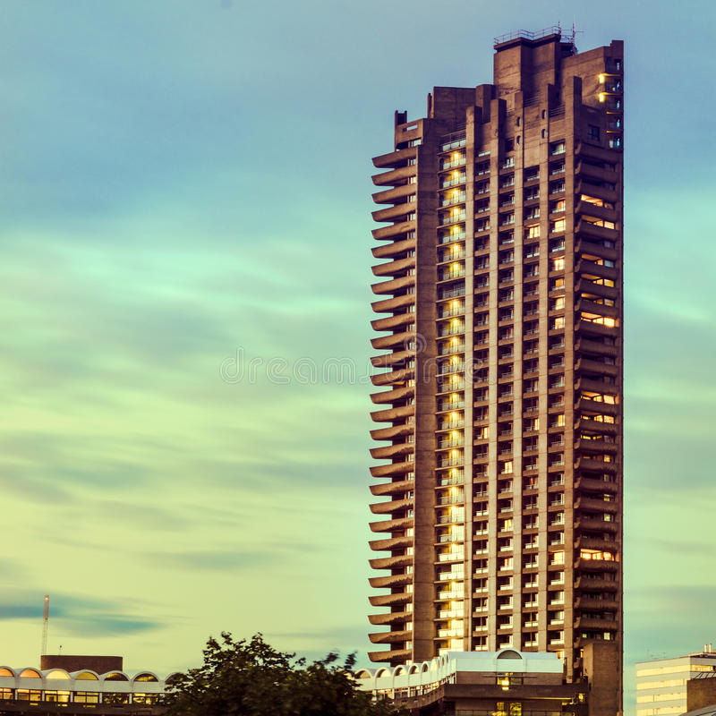 Exekutivwohnungen, London, Großbritannien stockfotos