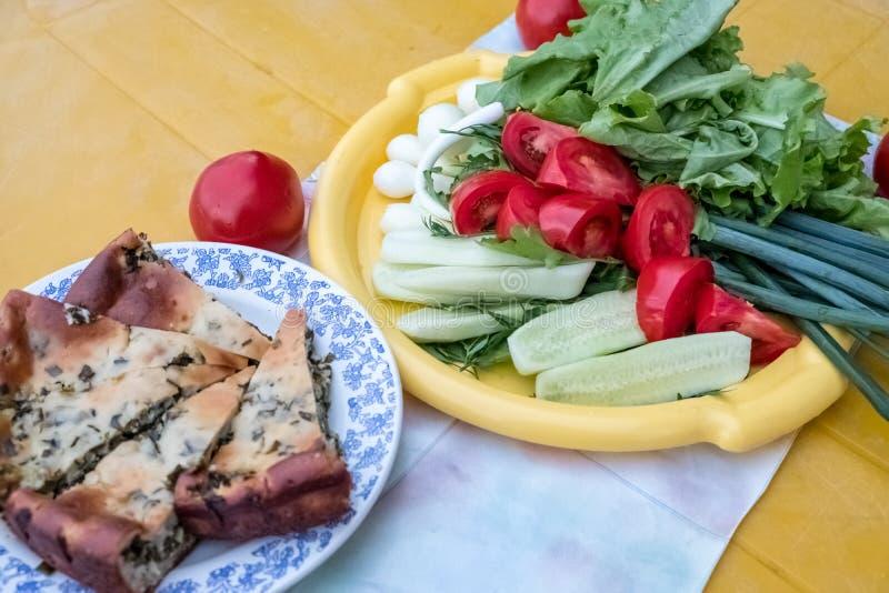 Exempel av sund näring från nya grönsaker royaltyfria bilder