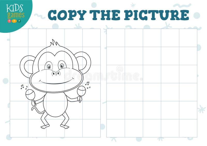 Exemplaarbeeld door net vectorillustratie r stock illustratie