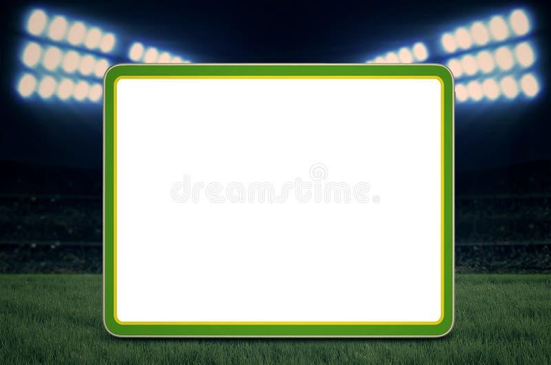 Download Exemplaarruimte Voor Voetbalspel Stock Foto - Afbeelding bestaande uit exemplaar, groen: 39107168