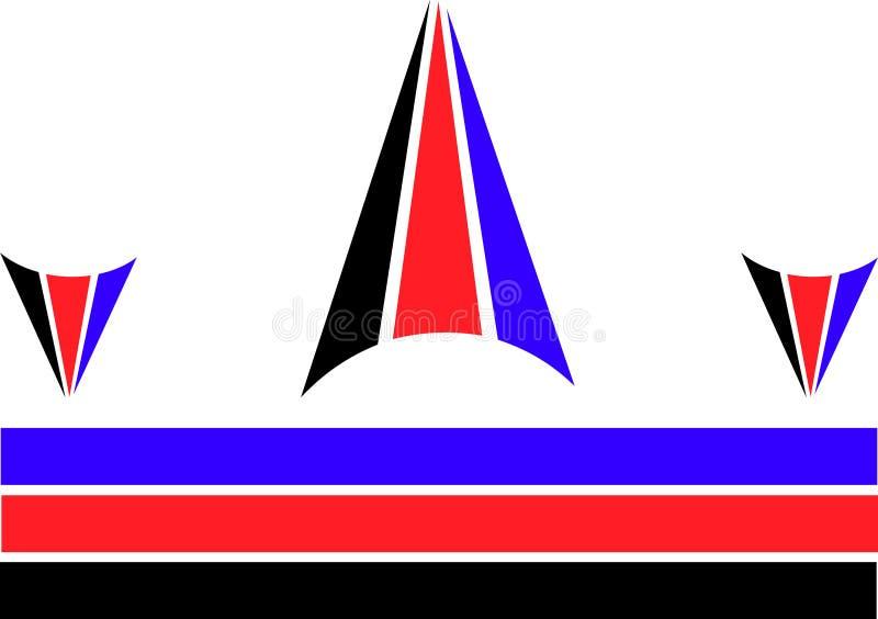 exemple d'un logo de sports image stock