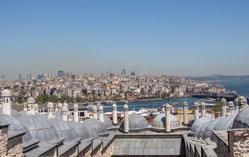 Exemple fin d'architecture turque de tour de tabouret images libres de droits