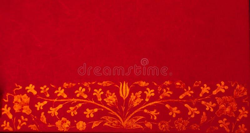 Exemplo floral do teste padr?o da arte do tempo do otomano ilustração do vetor