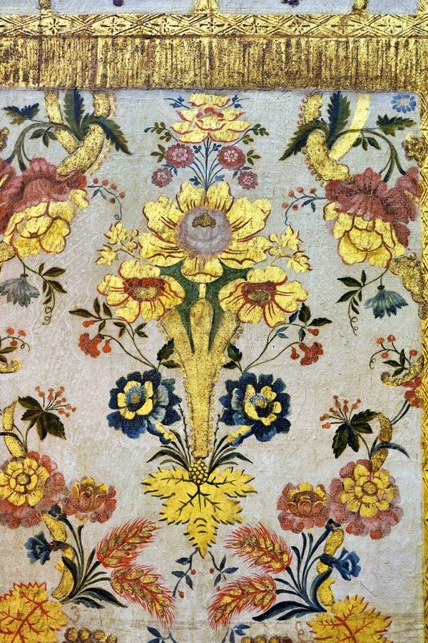 Exemplo medieval português da arte, Évora, Portugal foto de stock royalty free