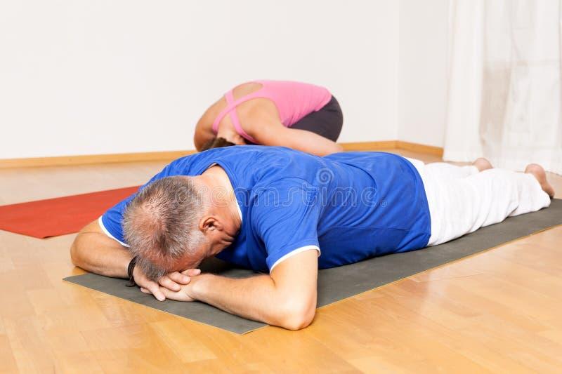 Exercício da ioga imagem de stock royalty free