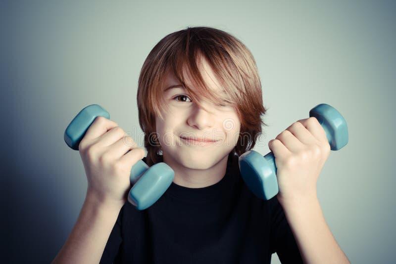Exercício - força da juventude foto de stock royalty free