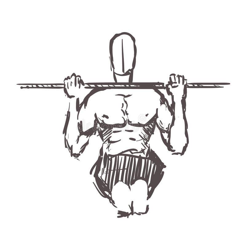 Calisthenics Ilustrações, Vetores E Clipart De Stock – (497 Stock  Illustrations)