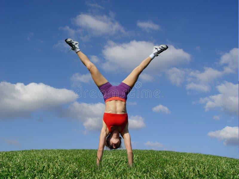 Exercice à l'extérieur photographie stock