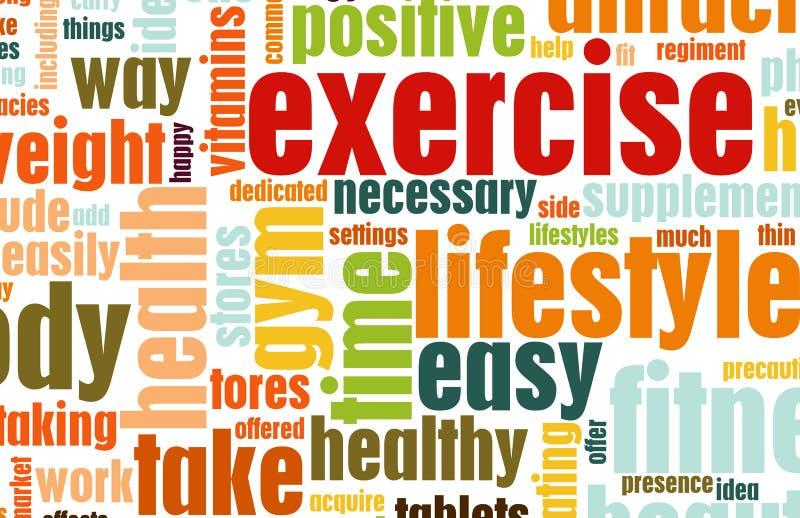 Exercice illustration libre de droits