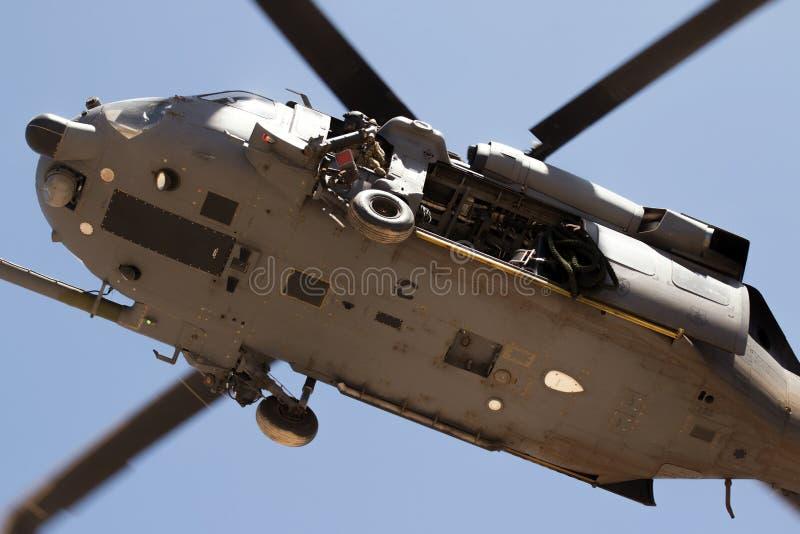 Exercice civil militaire Angel Thunder d'opération images libres de droits