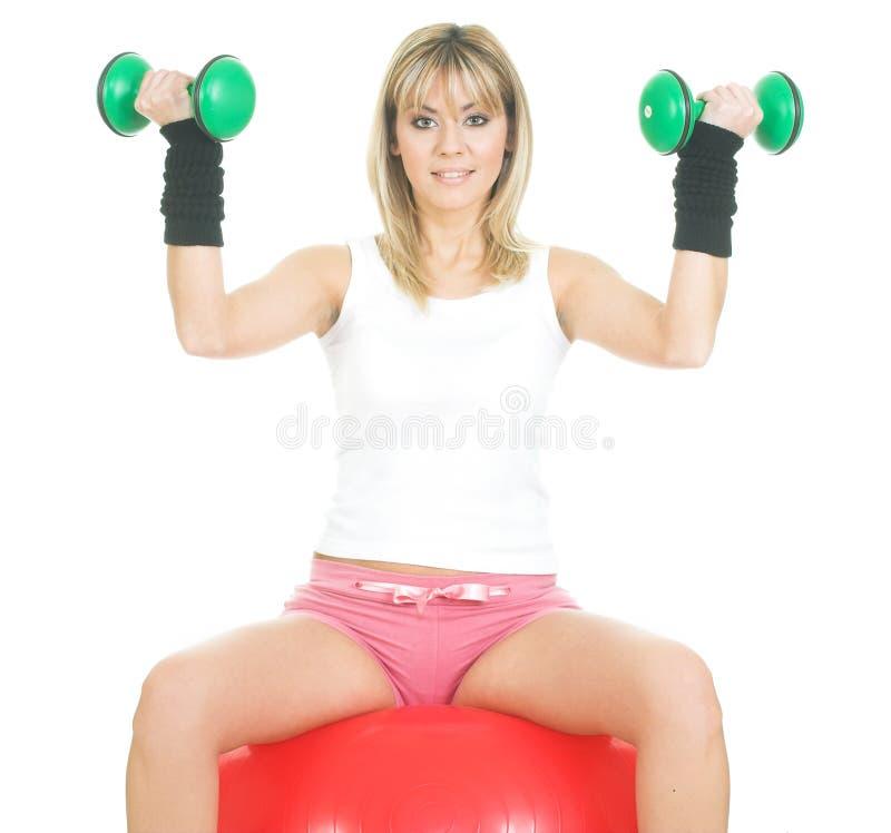 Exercice de concept de Pilates image stock
