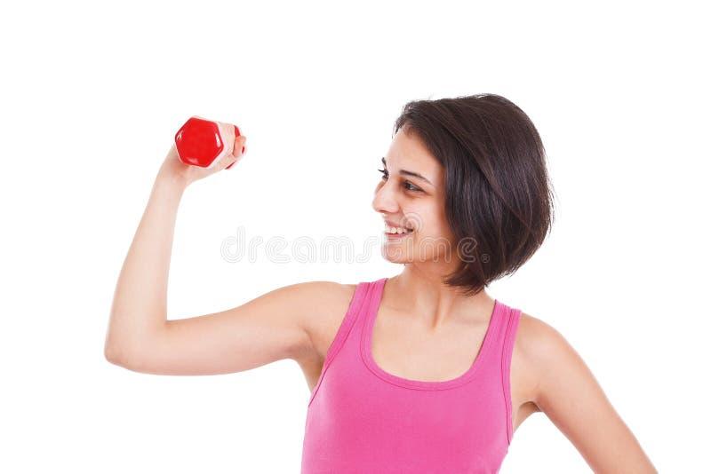 Exercice de forme physique photo stock