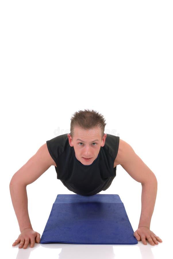 Exercice de forme physique photo libre de droits