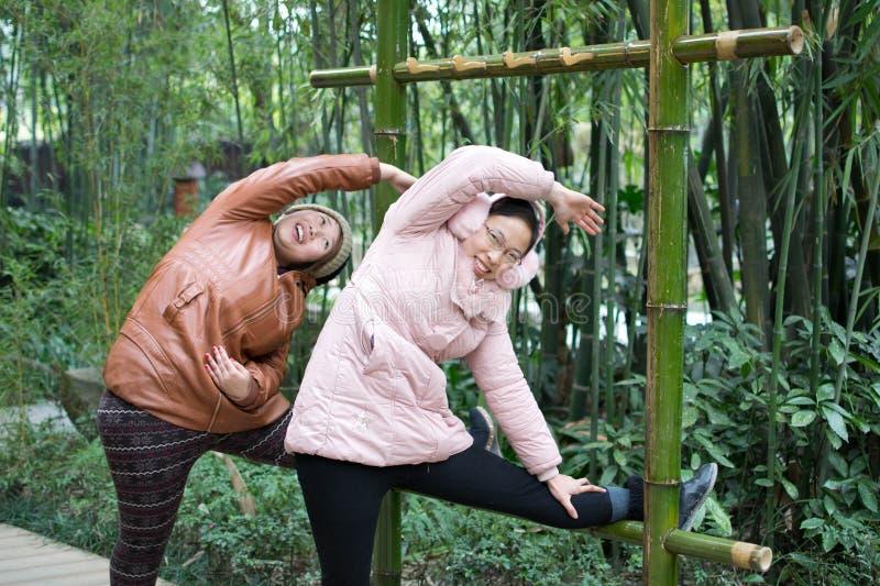 Exercice physique photo stock