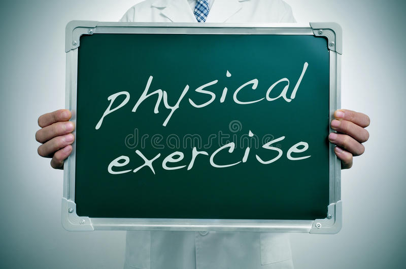 Exercice physique photographie stock