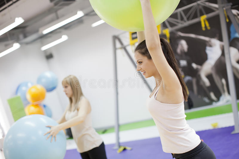 Download Exercise stock photo. Image of gymnastics, beauty, loss - 24838362