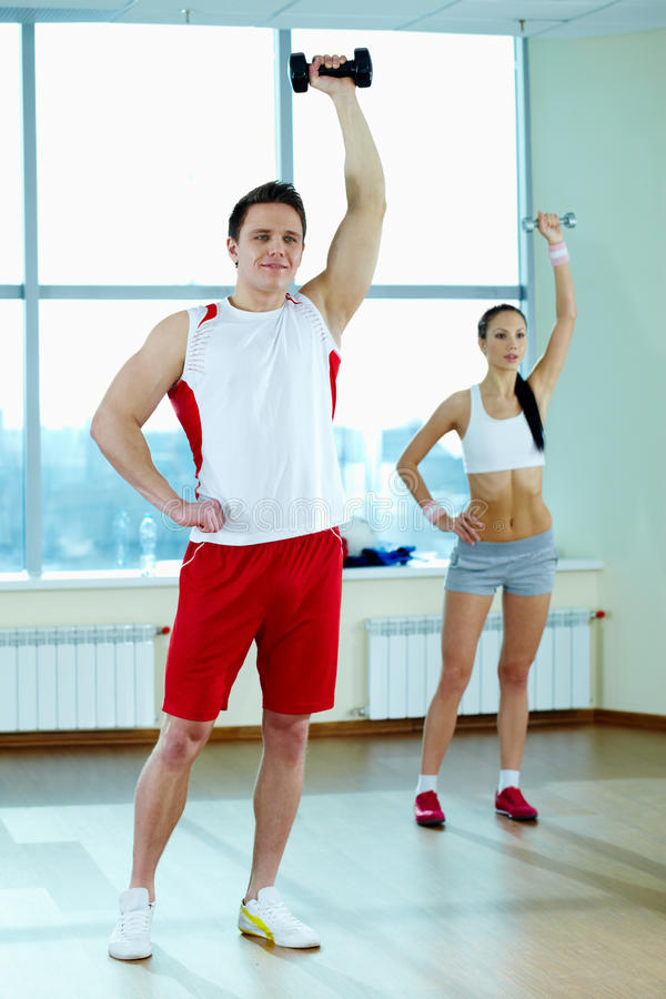 Download Exercise stock photo. Image of person, hold, athletic - 26836786