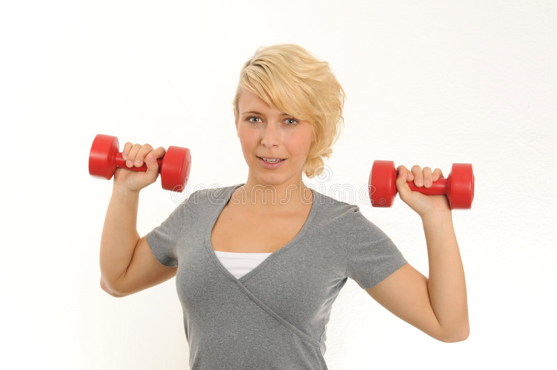 Download Exercise stock image. Image of workout, woman, sporting - 6707685