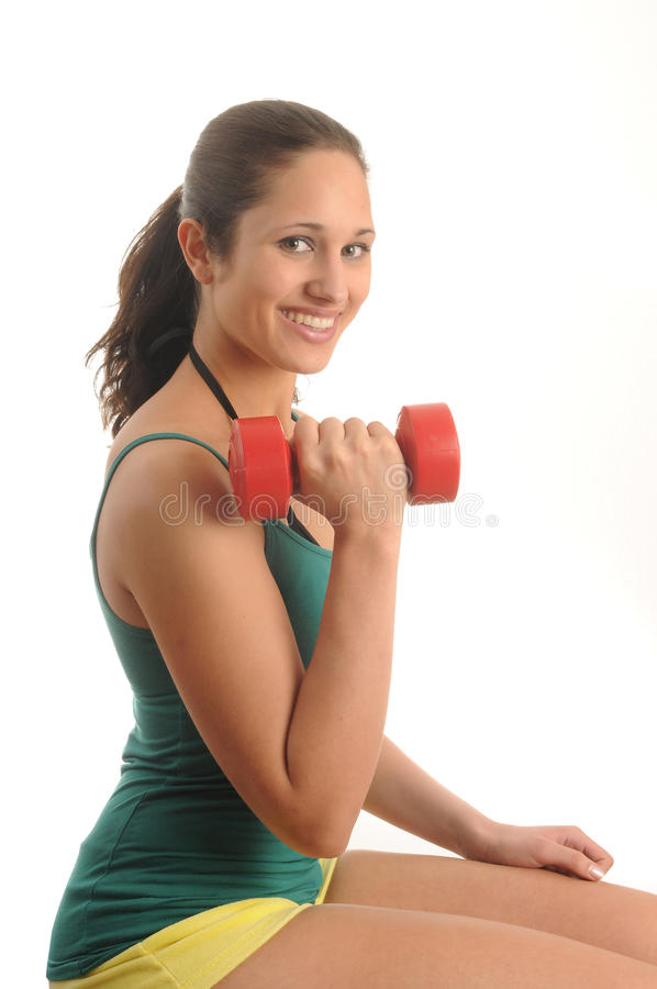 Download Exercise stock image. Image of sporting, isolated, smile - 9648553