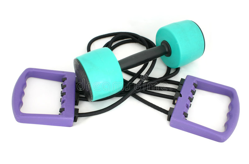 Exercise accessories #2 royalty free stock images