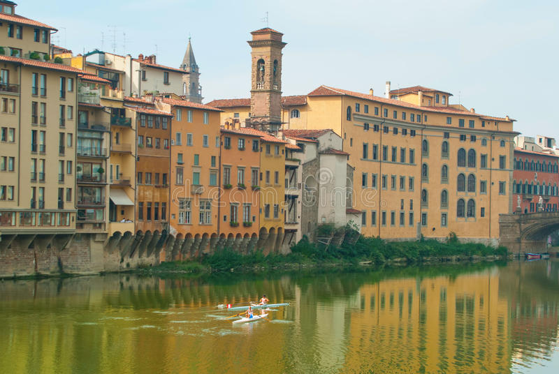 Download Exercise On The Arno River Editorial Stock Image - Image: 26891989