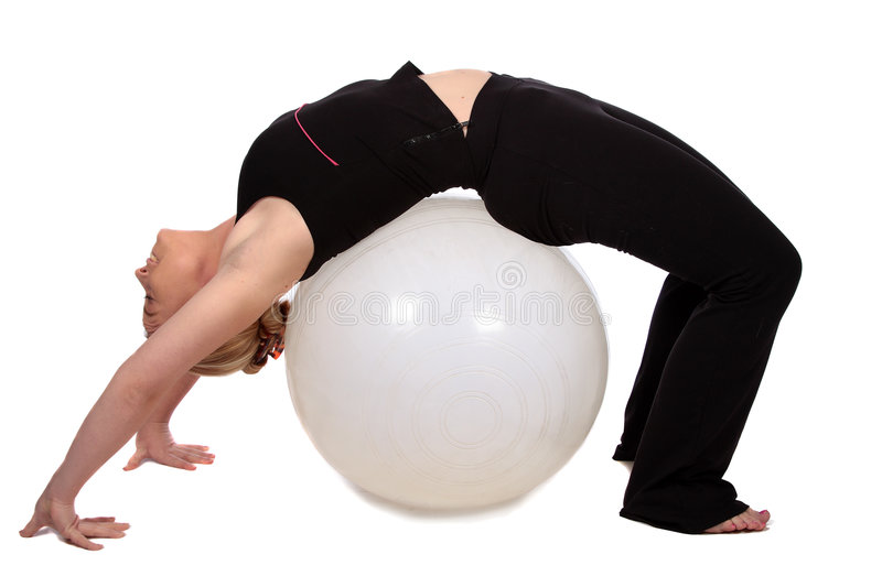 Download Exercise ball stock photo. Image of exercise, conditioning - 3831498