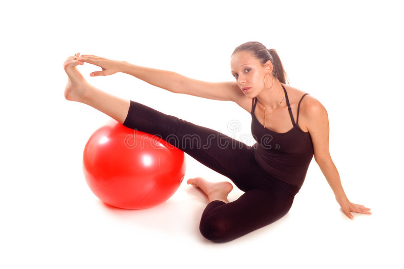 Download Exercise ball rollout stock photo. Image of healthy, training - 3210612