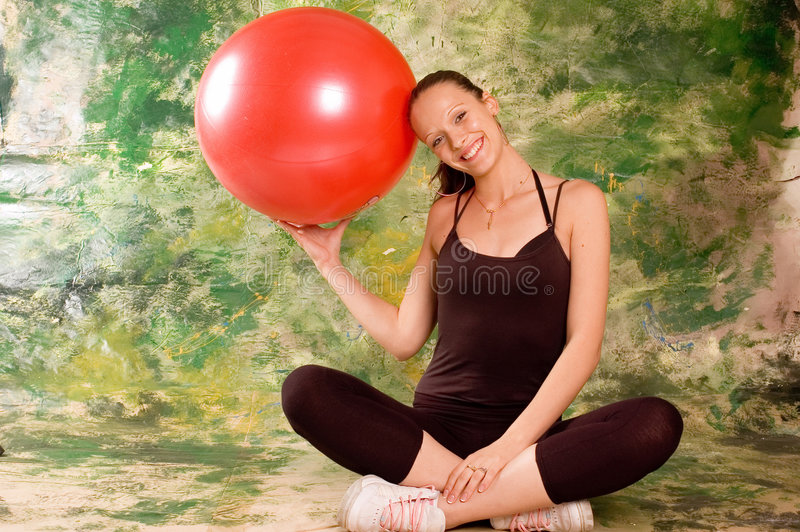 Download Exercise Ball Rollout Stock Photography - Image: 3218572