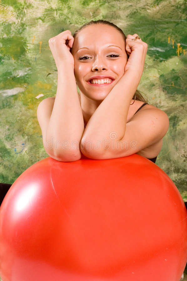 Download Exercise Ball Rollout Royalty Free Stock Photos - Image: 3332388