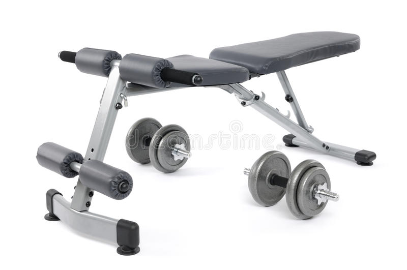 Download Exercise Bench stock image. Image of exercise, bench - 10348333