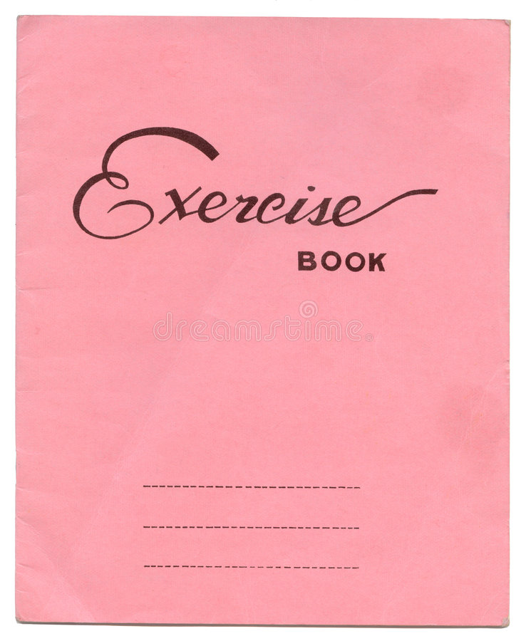 Exercise Book Cover Paper : Exercise book stock image of paper blank cover