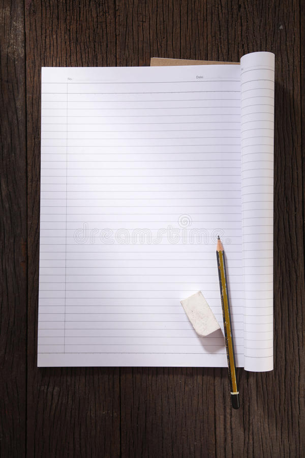 Exercise book royalty free stock images