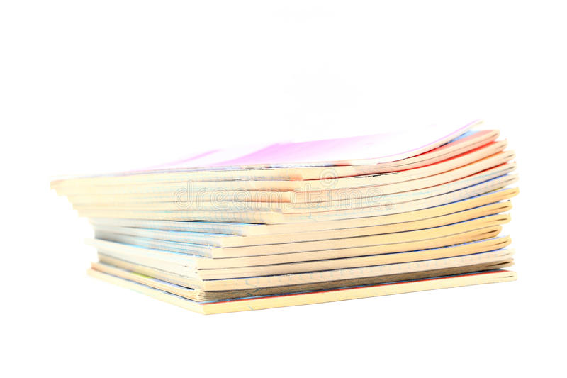 Exercise books royalty free stock images